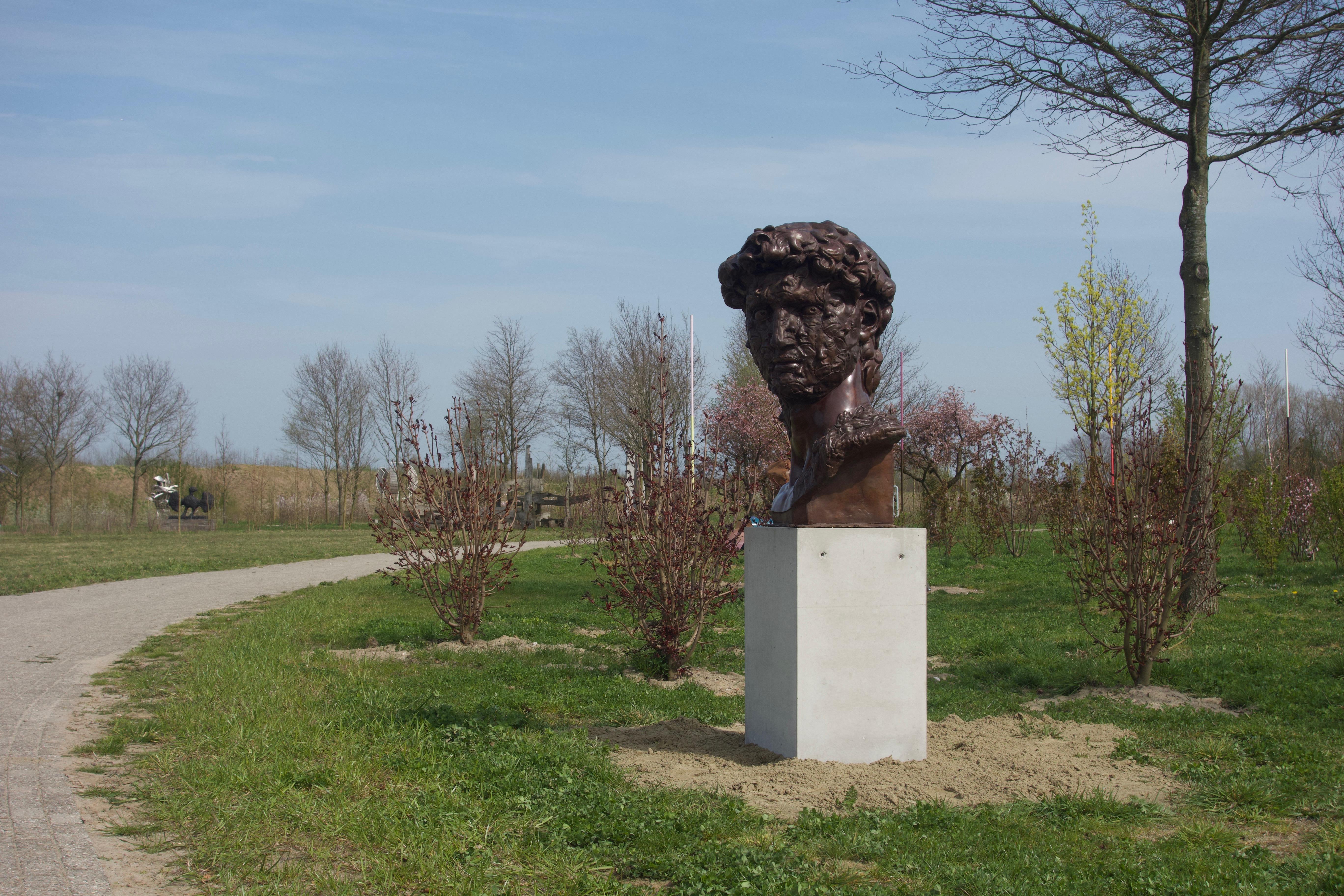 Sculpture garden Anningahof, Zwolle, summer 2019